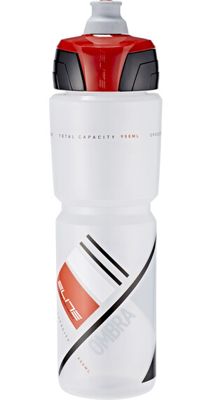 Elite Ombra Trinkflasche 950ml transparent/rot